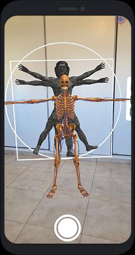 Experiencia Megalabs Davintex en Realidad Aumentada