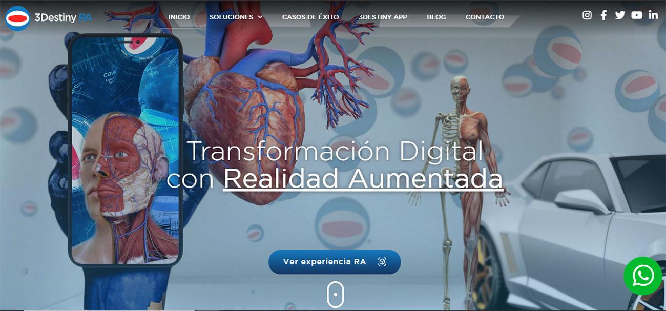 nuevo sitio web 3Destiny