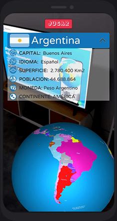 Atlas Mundial en Realidad Aumentada